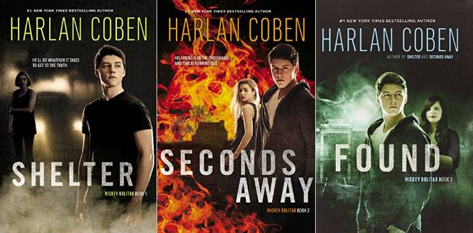 The Mickey Bolitar Series by Harlan Coben - Cedar Rapids ...