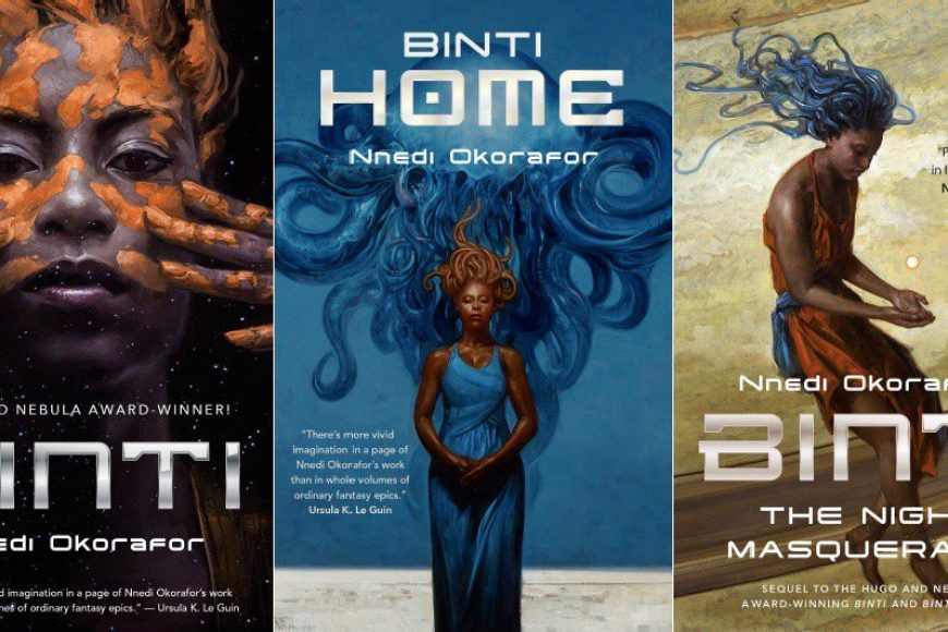 The Binti trilogy made me fall in love with sci-fi all over again.
